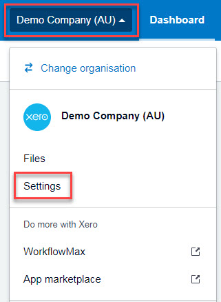 Single Touch Payroll Xero Setup
