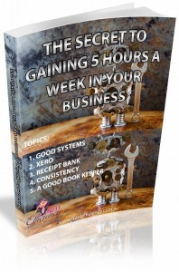 The secret to gaining 5 hours a week in your business
