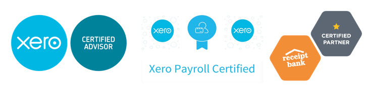 Xero Payroll Receipt Bank Certified Advisor