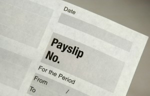 Employee payslips