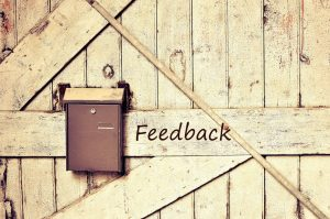 Negative feedback or positive opportunity